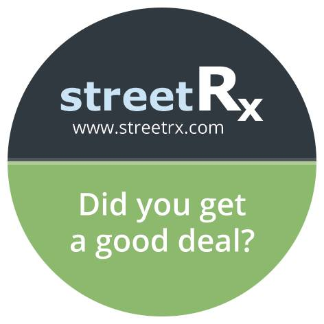 Streetrx Latest Street Prices For Prescription Drugs Canada